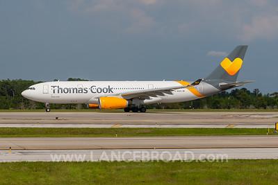 Thomas Cook A330-200 - G-MDDB - MCO