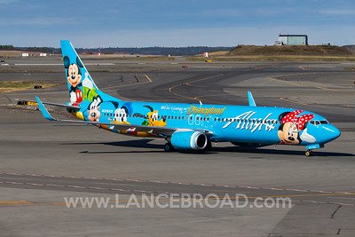 Alaska Airlines 737-900ER - N318AS - ANC