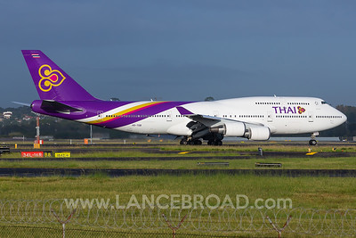Thai Airways 747-400 - HS-TGB - SYD