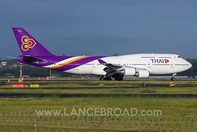 Thai Airways 747-400 - HS-TGB - SYD