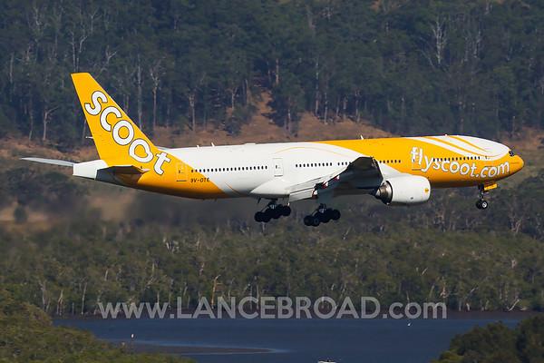 Scoot 777-200ER - 9V-OTE - OOL