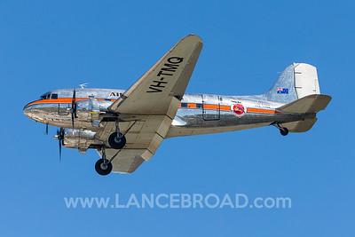 Air Nostalgia DC3C-R - VH-TMQ - YBAF