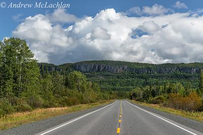 Highway 17 near Dorian, Ontario, Canada