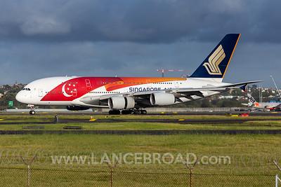 Singapore A380-800 - 9V-SKJ - SYD