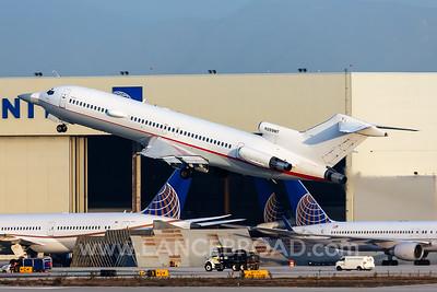 Raytheon 727-200 - N289MT - LAX_