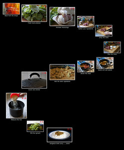 Play around with the size settings once you open the image in its window to be able to read the narrative etc.  A sequence for a cookery magazine.