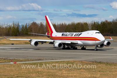 Kalitta 747-400 - N402KZ - ANC