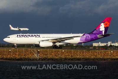 Hawaiian A330-200 - N390HA - SYD