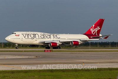 Virgin Atlantic 747-400 - G-VROM - MCO
