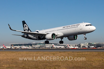 Air New Zealand A321-200N - ZK-NNF - BNE