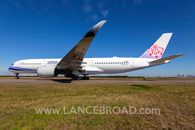 China Airlines A350-900 - B-18902 - BNE