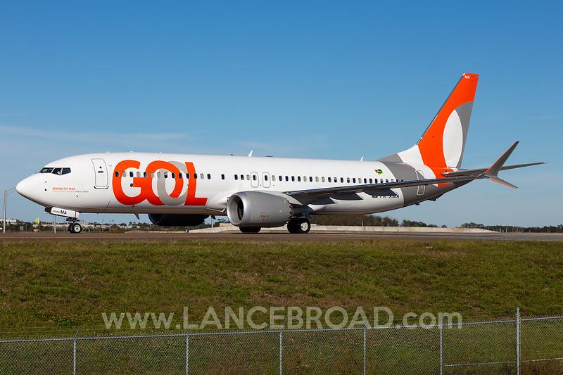 GOL 737-8 MAX - PR-XMA - MCO