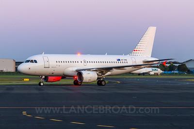 Skytraders A319 ACJ - VH-VHD - BNE