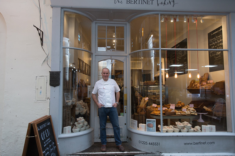 Profile on Bertinet bakery, Bath for Delicious magazine