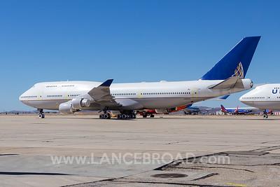United 747-400 - N180UA - VCV