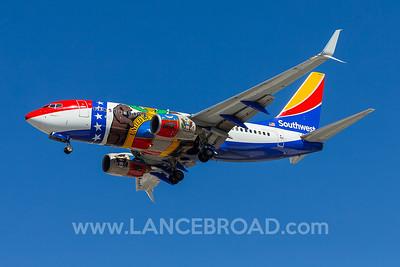 Southwest 737-700 - N280WN - LAS