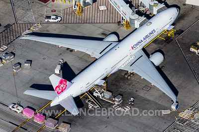 China Airlines 777-300ER - B-18055 - LAX