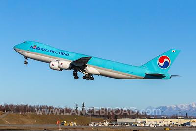 Korean Air Cargo 747-8F - HL7617 - ANC