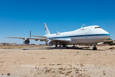 NASA 747SR - N911NA - PMD