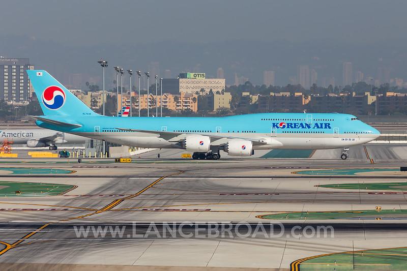 Korean Air 747-8 - HL7638 - LAX