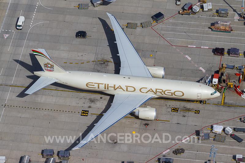 Etihad Cargo 777-200LRF - A6-DDC - SYD