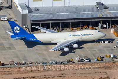 General Electric 747-100 - N747GE - VCV
