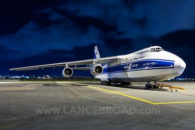 Volga-Dnepr Antonov 124-100 - RA-82081 - BNE