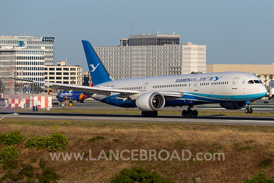 Xiamen Air 787-9 - B-1567 - LAX