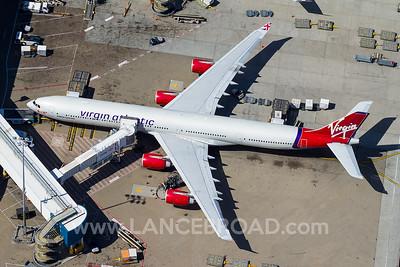 Virgin Atlantic A340-600 - G-VWIN - SYD