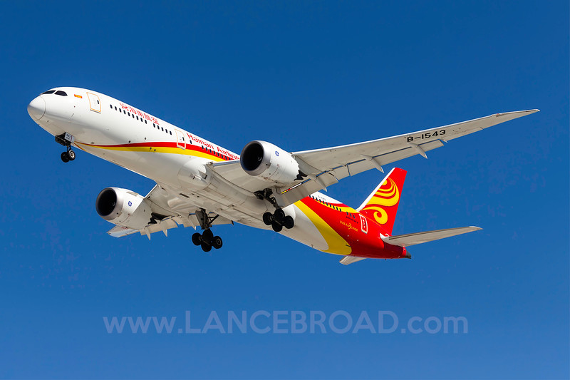 Hainan Airlines 787-8 - B-1543 - LAS