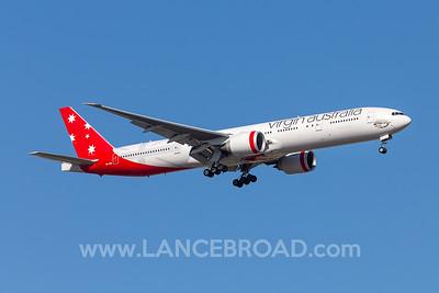 Virgin Australia 777-300ER - VH-VPE - BNE
