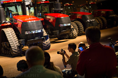 Case iH Media Event at the National Western Complex in Denver to unveil the 2014 tractor lineup.  Images by Kyle Spradley Photography | www.kspradleyphoto.com