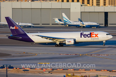 Fedex 767-300ER  - N127FE - LAS