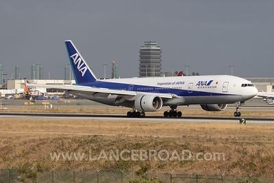 ANA 777-200ER - JA716A - LAX