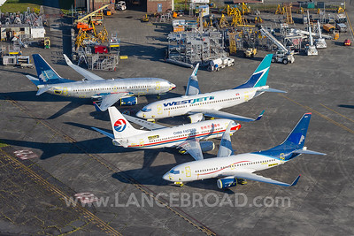 Aeromexico 737-700 - XA-GMV - PAE