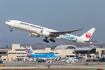 Japan Airlines 777-300ER - JA733J - LAX