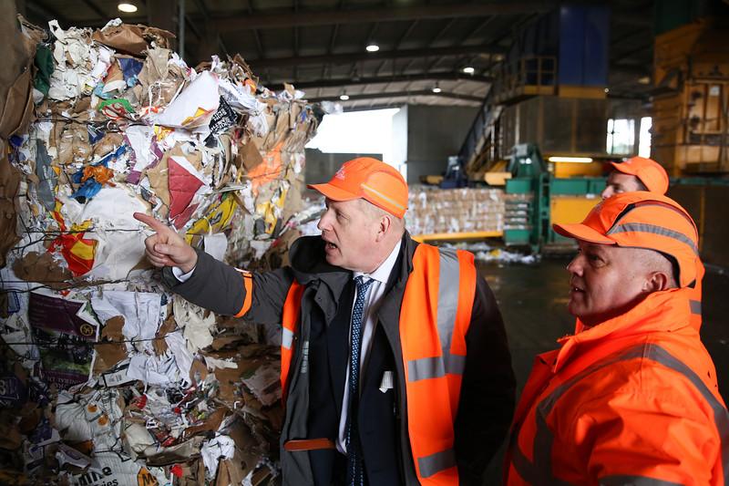 Boris Johnson visits DS Smith
