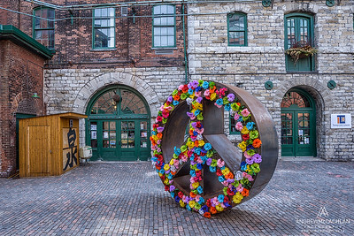 Distillery District, Toronto, Ontario, Canada