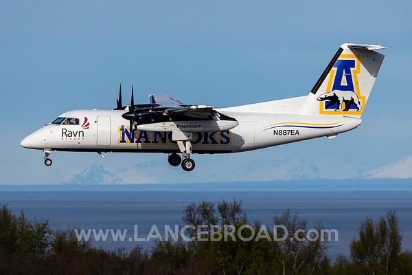 Ravn Alaska Dash 8-100 - N886EA - ANC