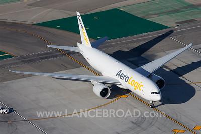 Aerologic 777-200LRF - D-AALF - LAX