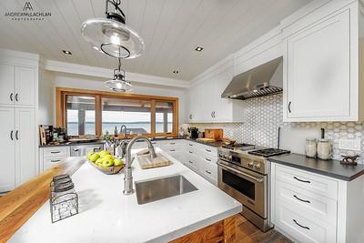 Kitchen, Custom Built Cottage, Muskoka, Ontario, Canada