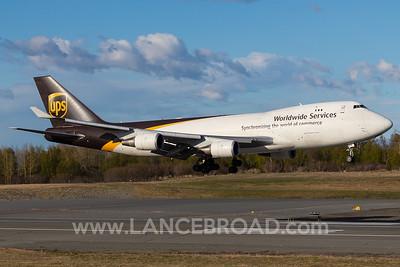 UPS 747-400 N57UP - ANC
