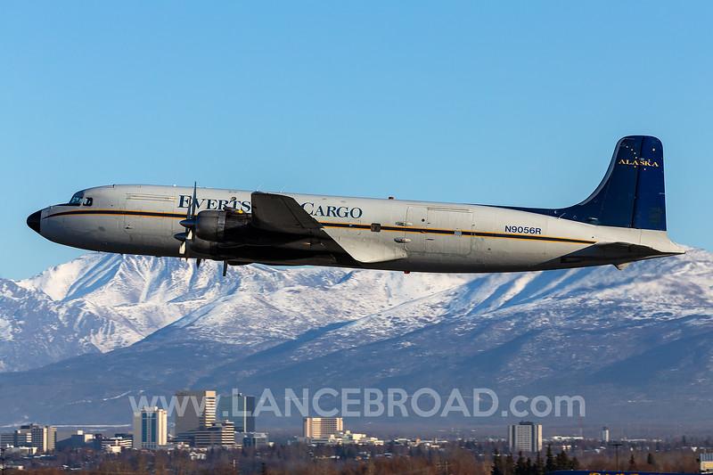 Everts Air Cargo DC-6A - N9056R - ANC_