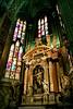 Inside Duomo, Milan, Italy