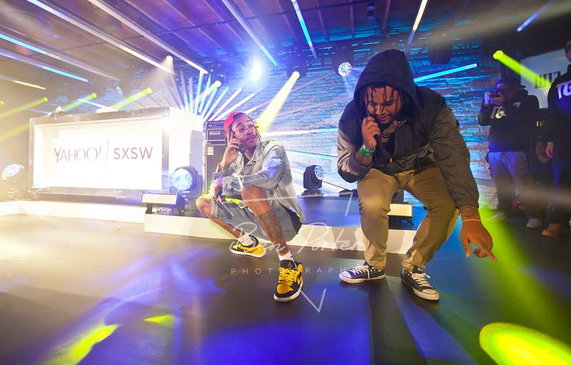 Wiz Khalifa at Brazos Hall SXSW 2015