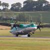 EI-FAU<br /> ATR 72-600<br /> Aer Lingus Regional<br /> Edinburgh Airport<br /> 16th August 2013