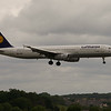 D-AIRO<br /> Airbus A321-131<br /> Lufthansa<br /> Edinburgh Airport<br /> 27th June 2014