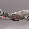 A6-EET<br /> Airbus A380<br /> Emirates<br /> Glasgow Airport<br /> 10th April 2014