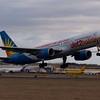 G-LSAM<br /> Boeing 757-204 <br /> Jet 2 Holidays<br /> Edinburgh Airport<br /> 24th February 2012