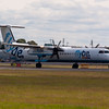 G-ECOR<br /> Bombardier DHC-8-402 <br /> FlyBe<br /> Edinburgh Airport <br /> 23rd July 2011